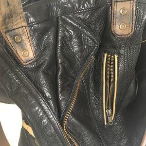 Free people leather handbag